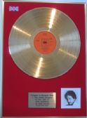 BOB DYLAN - 24 Carat Gold Disc LP - NEW MORNING